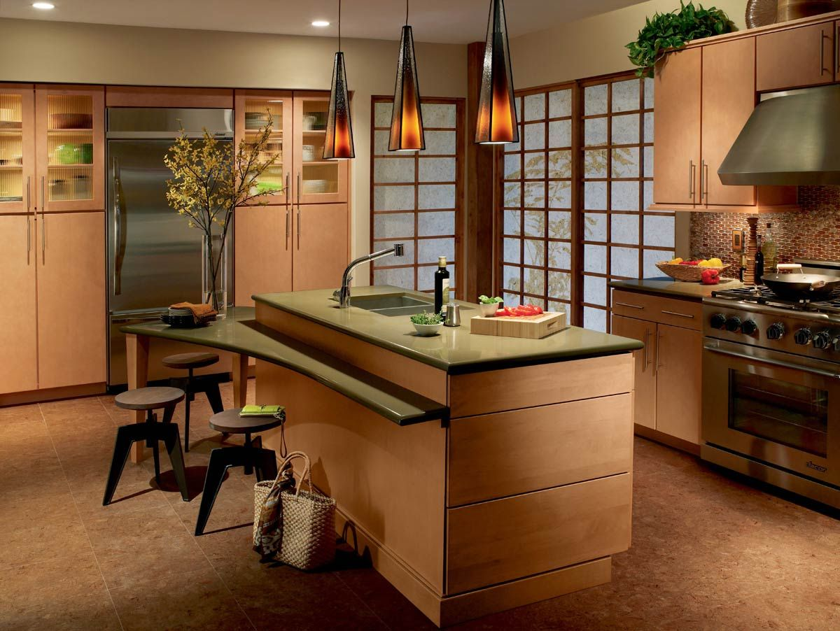 Best These Waypoint Living Spaces Style 730S Cabinets In Maple 640 x 480