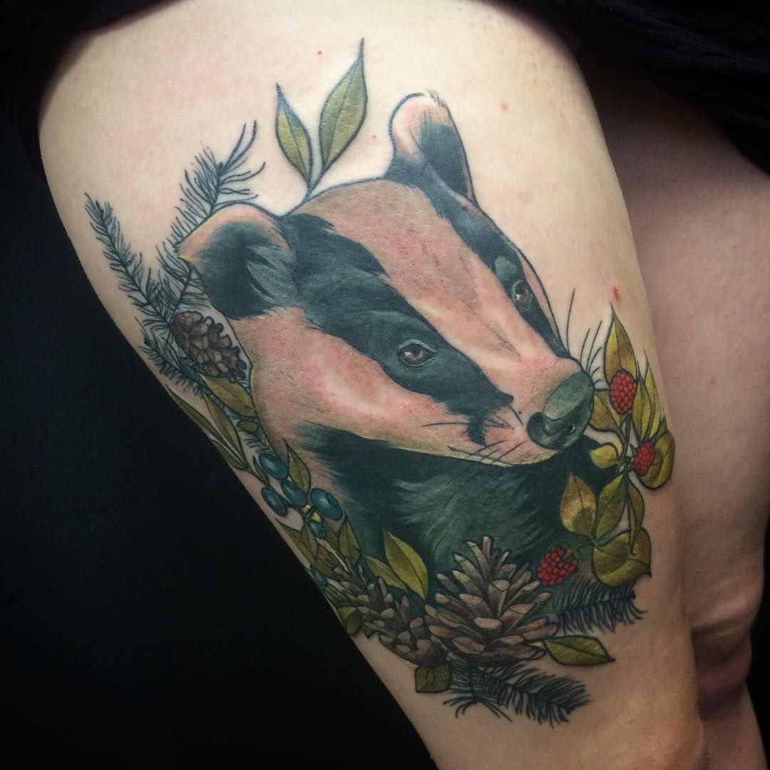 Nature Tattoos On Pinterest: Finished This Little Guy Today! Had So Much Fun With It