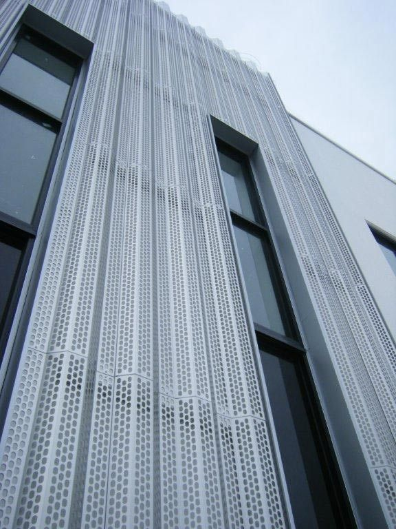 large perforated steel sheet google search parking
