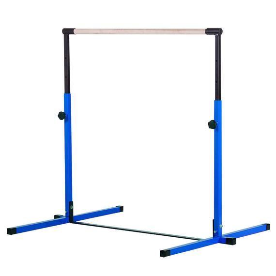 Blue Light Blue Little Gym For Home Adjustable Gymnastics Kip Bar 8ft Gymnastics Practice Beam 8ftx4ft Gymnastics Tumbling Mat Gymnastics Equipment For Home Gymnastics Bar