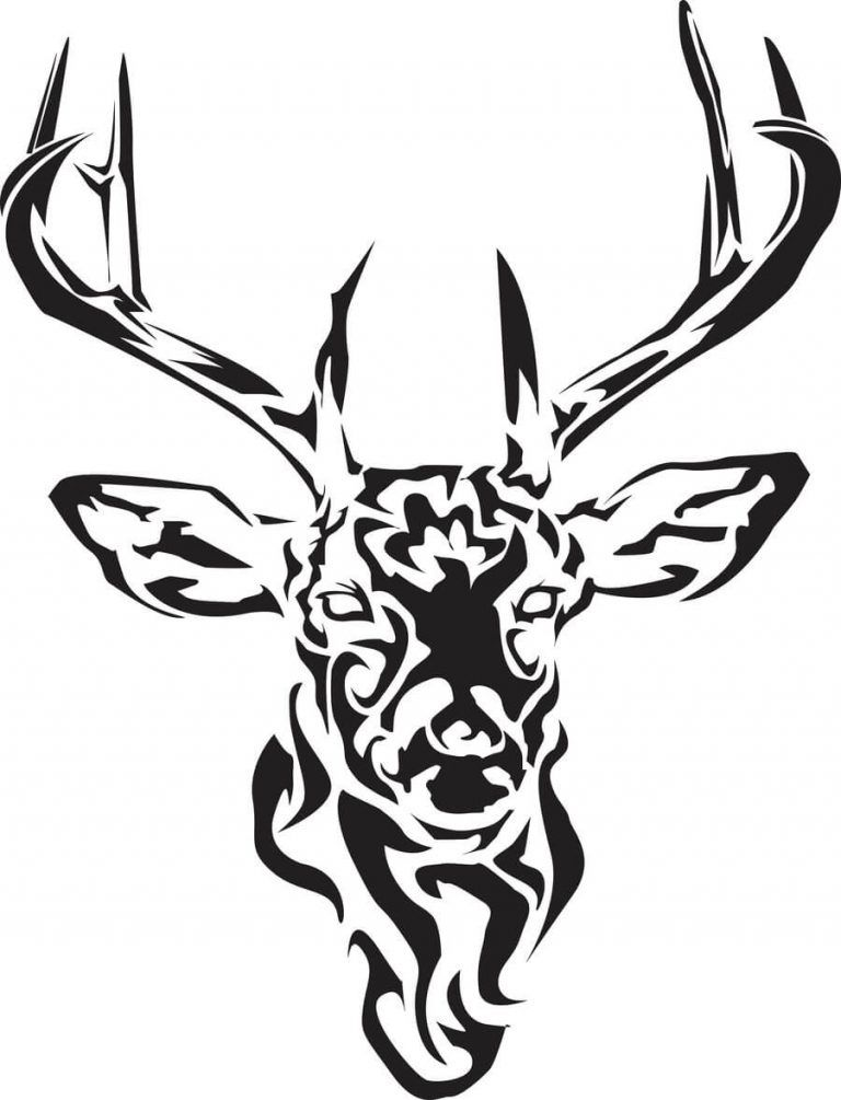 15 Tribal Deer Tattoo Designs And Ideas Petpress In 2020 Deer Tattoo Designs Deer Tattoo Tribal Animal Tattoos