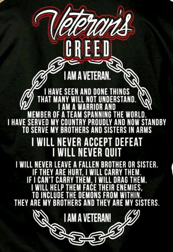 Veteran's Creed