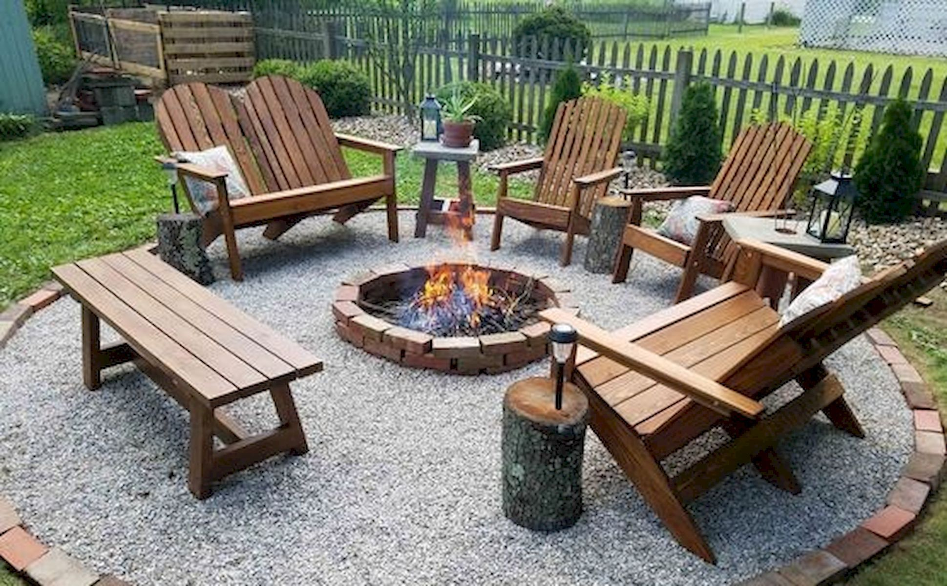 Deco Terrasse Bois Flotté 50 magical outdoor fire pit design ideas   foyer jardin