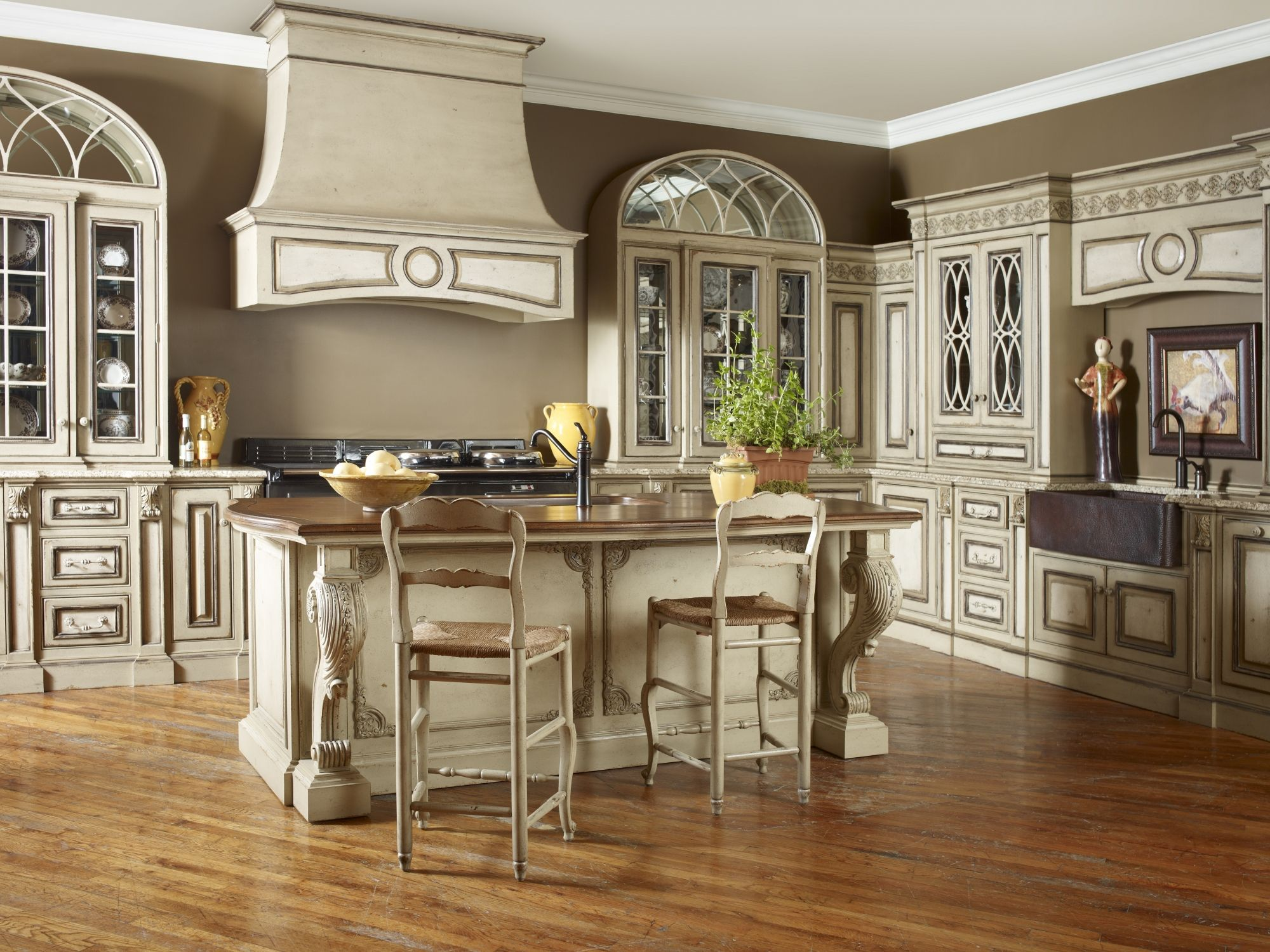 Whether your preference is a rustic farmhouse in provence for Elegant kitchen designs