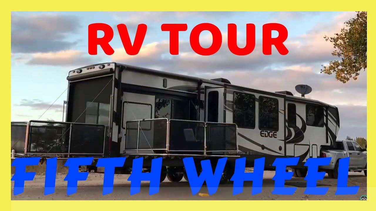 Tour of our heartland toy hauler rv full time rv living garage
