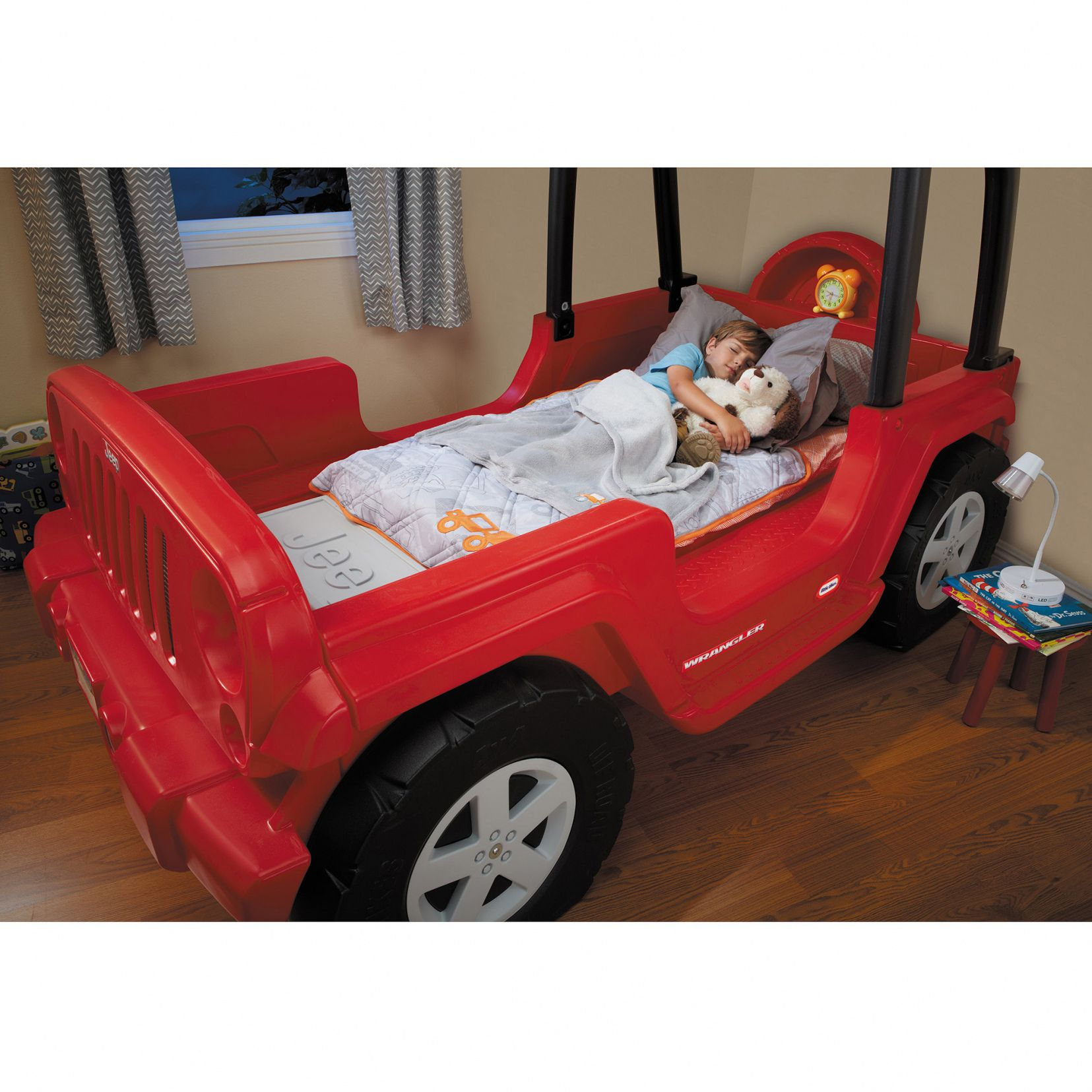50+ Little Tikes Fire Truck toddler Bed Bedroom Wall Art
