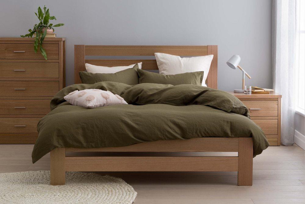 Springwood Bed Frame Natural Bedroom Furniture Forty Winks Bedroom Furniture Bed Frame Bed