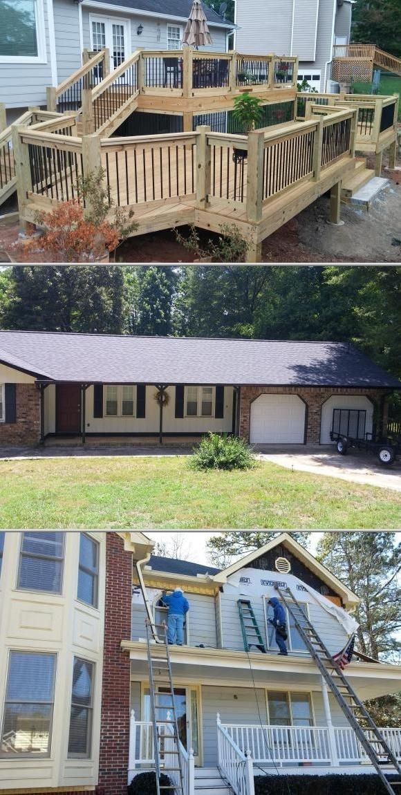 Searching For Fence Contractors Br Roofing And Remodeling Provides A Broad Variety Of Services Including Roof Replac Roofing Deck Repair Roof Paint