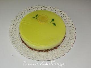 Emmas KakeDesign: Sitronfromasjkake