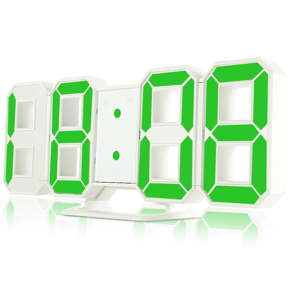 3d Led Digital Wall Clock Wall Clock Digital Clock Display