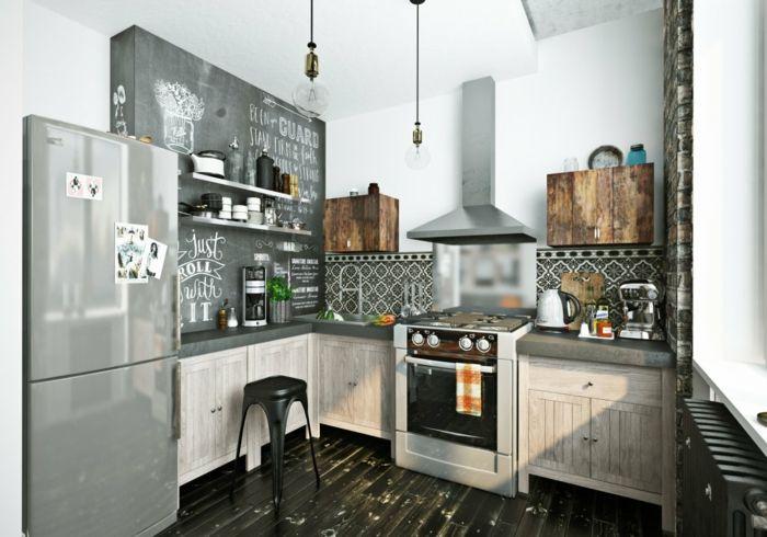 einrichtungsideen küchengestaltung kücheneinrichtung ideen Küche - naturstein arbeitsplatte küche