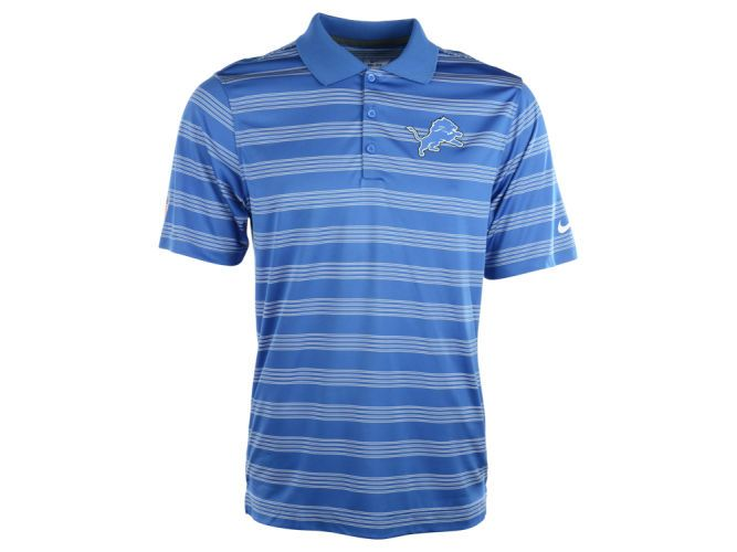 Detroit Lions Nfl Preseason Polo Nike Men Polo Shirt Detroit Lions Hat