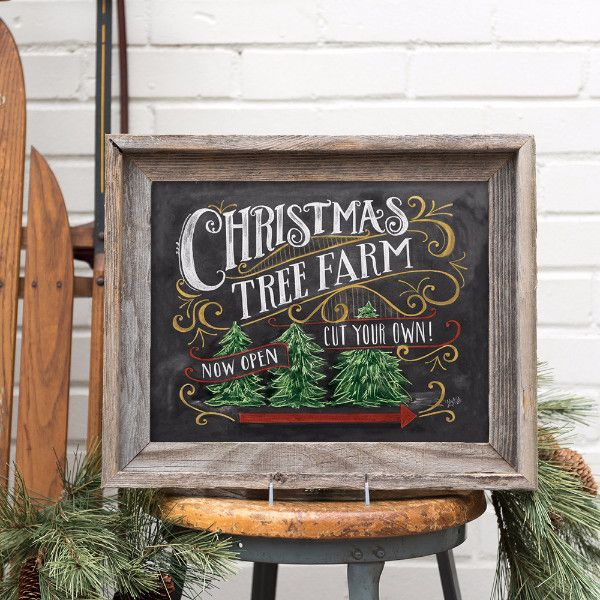 Country Pines Christmas Tree Farms: Christmas Tree Farm - Print
