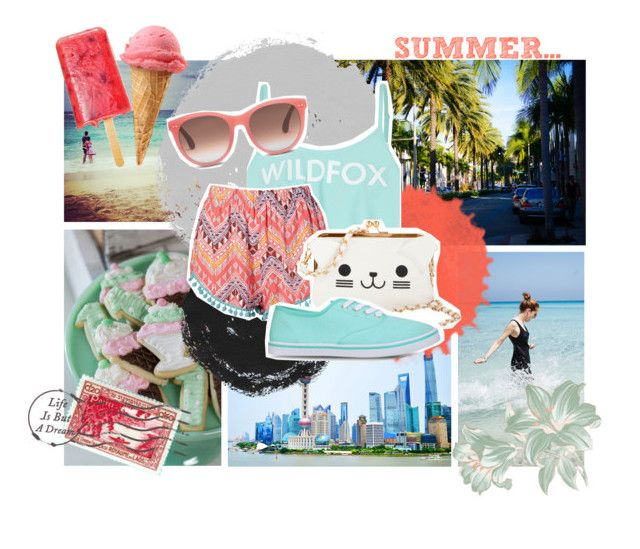 """""""Summer time..."""" by danike ❤ liked on Polyvore"""