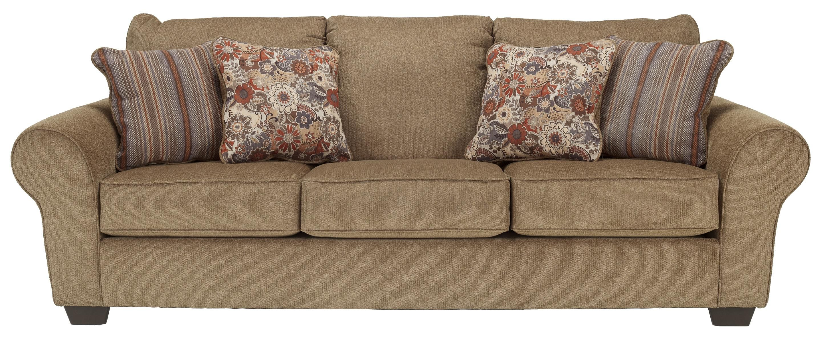 Galand Umber Queen Sofa Sleeper By Ashley Furniture