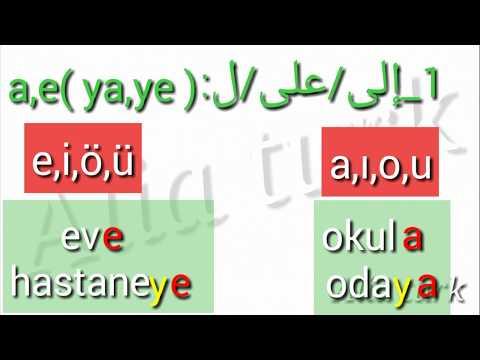 حروف الجر في اللغة التركية Youtube Learn Turkish Incoming Call Screenshot Learning