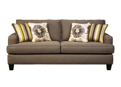 Best Badcock Marina Sofa 500 Smoke Color For The Home 400 x 300