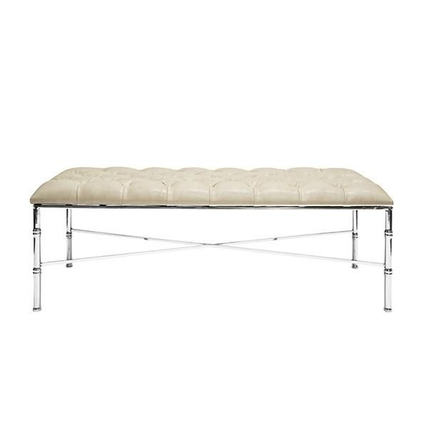 The Stella Bench By Worlds Away Offers Elegance And Sophistication To Your Space The Stella Featur Furniture Home Furniture Online Upholstered Bench