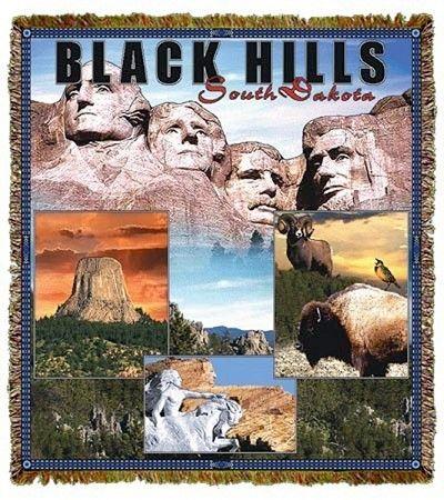 Black Hills Mount Rushmore South Dakota Tapestry