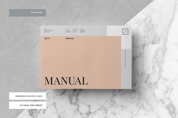Palermo Brand Manual @creativework247 Brochure Design - Brochure - manual templates
