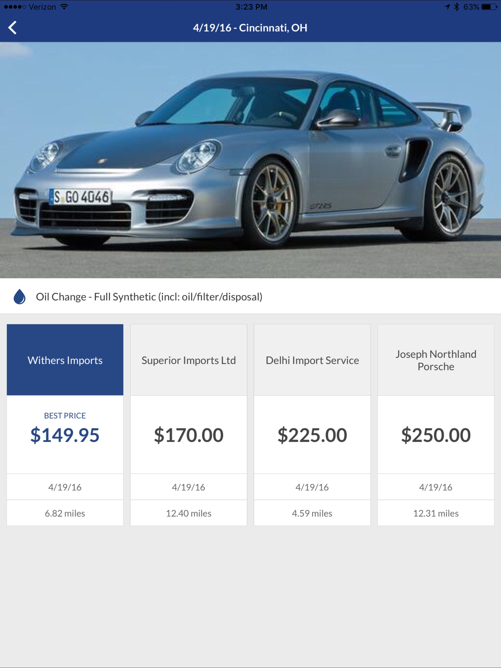 How Much Is An Oil Change >> Cost Of An Oil Change For A Porsche Oil Change Porsche