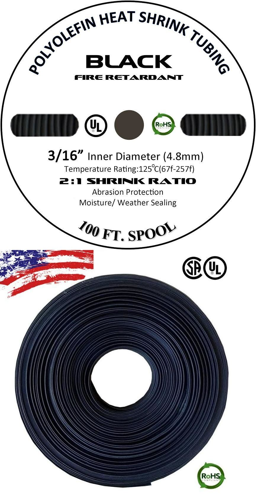 """100/' Feet BLUE 3//4/"""" 19mm Polyolefin 2:1 Heat Shrink Tubing Tube Cable US 100 FT"""