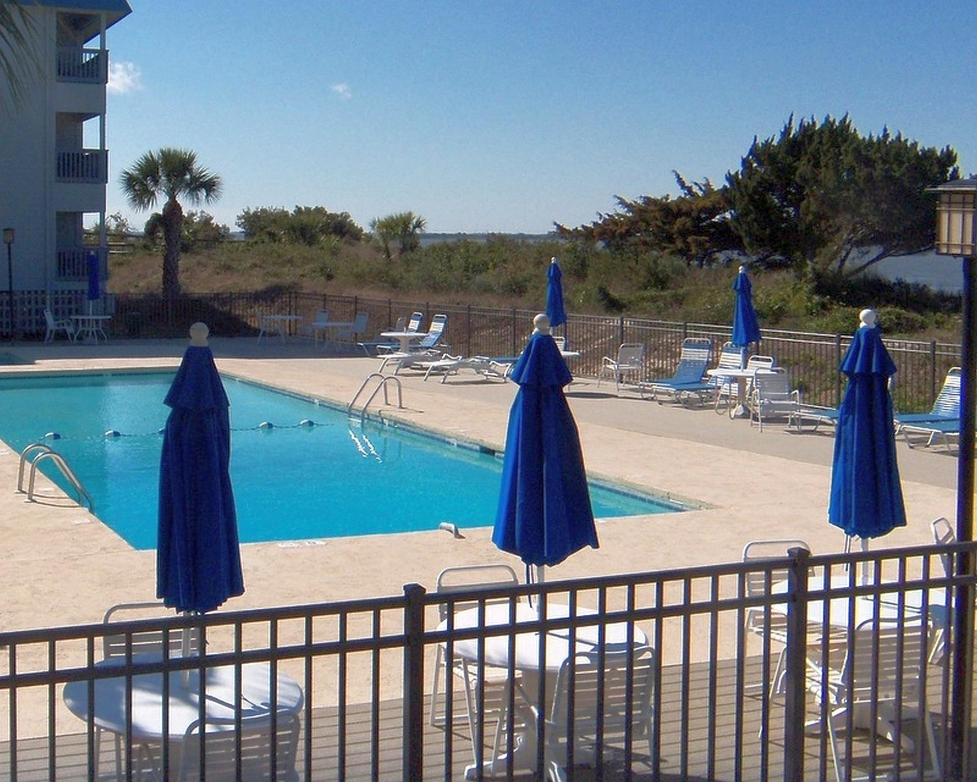 1 Bed Bath Bay Front Condo At Savannah Beach Racquet Club