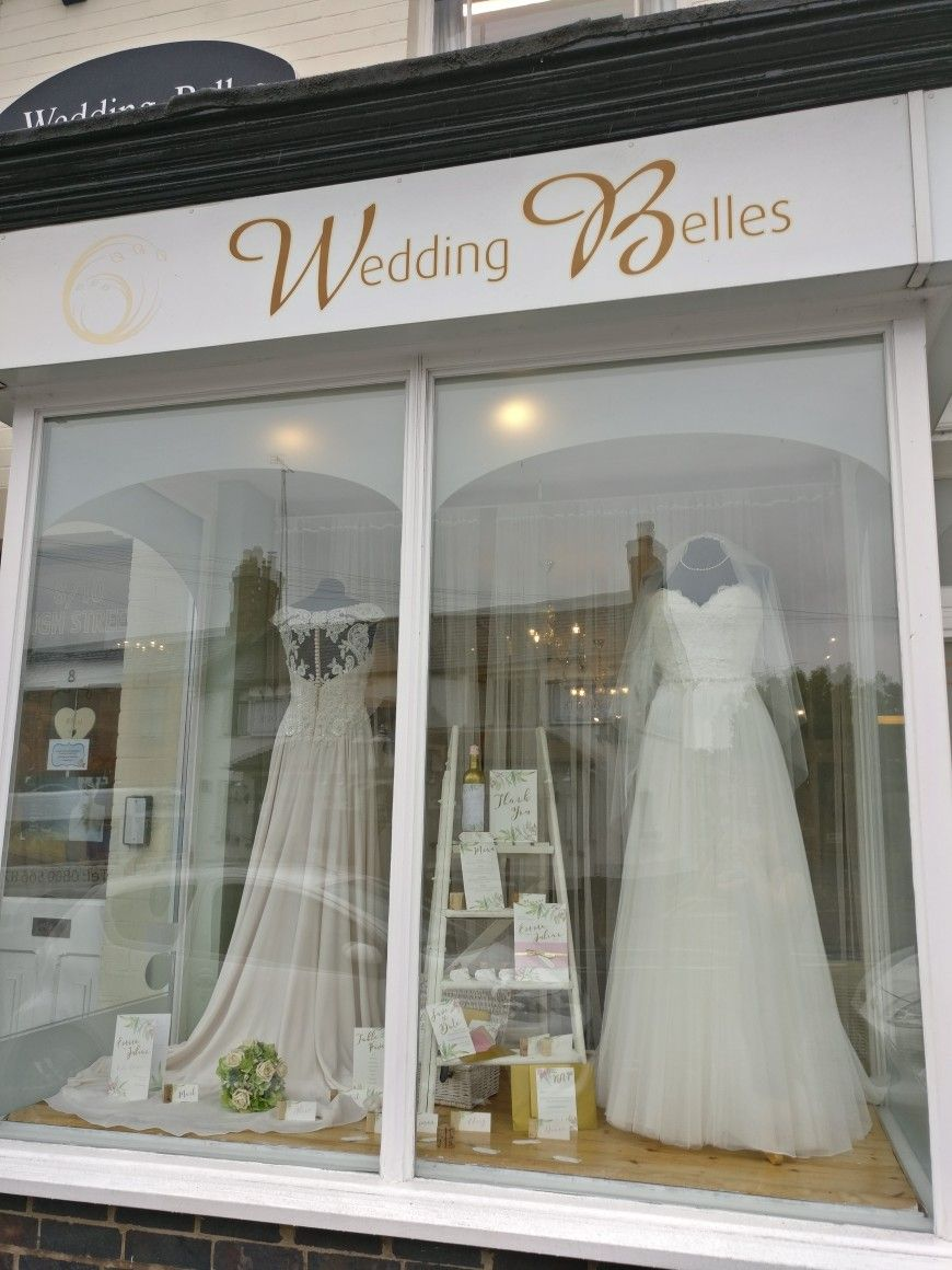 Window display ideas  pin by wedding belles boutique kibworth on window displays