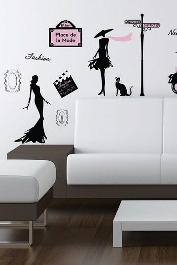 Fashion Streets Removable Wall Decal Set With Images Wall