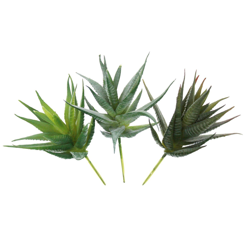 Faux Aloe Realistic Artificial Succulent Greenhouse Small Plants ...