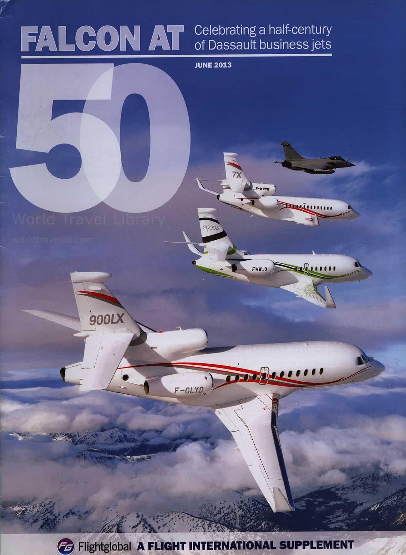 Dassault Aviation Falcon at 50 ( Flightglobal special
