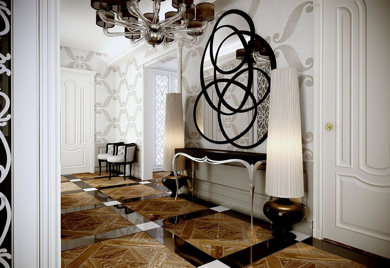 Art deco style uses a variety of the decorative elements for Art deco interior design colours