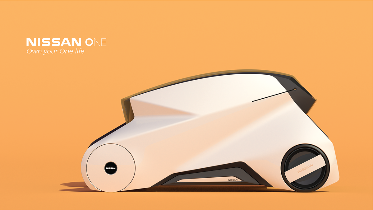 NISSAN_ONE on Behance Concept cars, Truck design