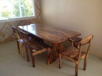 Kini Woodworkinghawaii 808 227 9473 Solid Wood Furniture Tropical Hardwoods