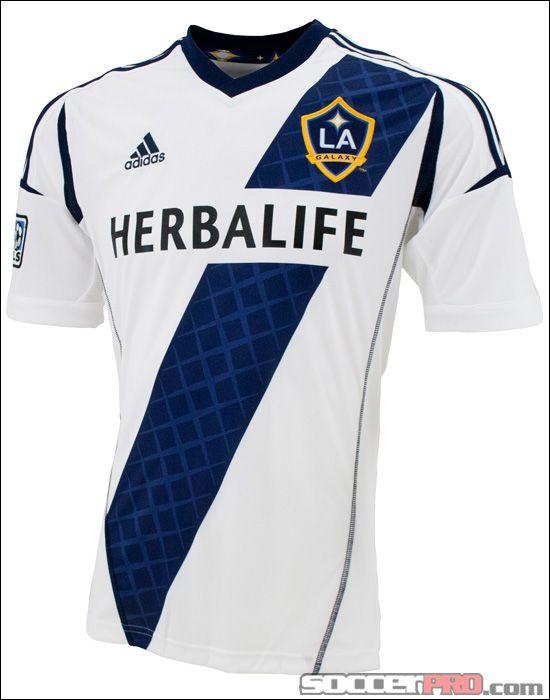 590558f428 adidas LA Galaxy Home Jersey 2012...$79.99 | MLS | Soccer shirts, La ...