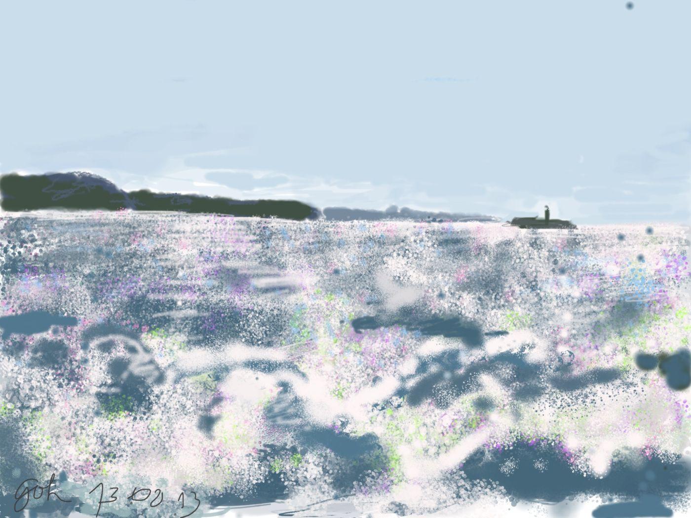 Trafalgar - oder:welche Farben hat das Wasser