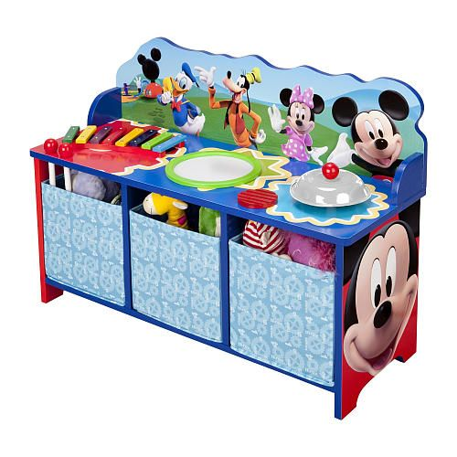 """Mickey Mouse Musical Bench - Delta - Toys """"R"""" Us"""