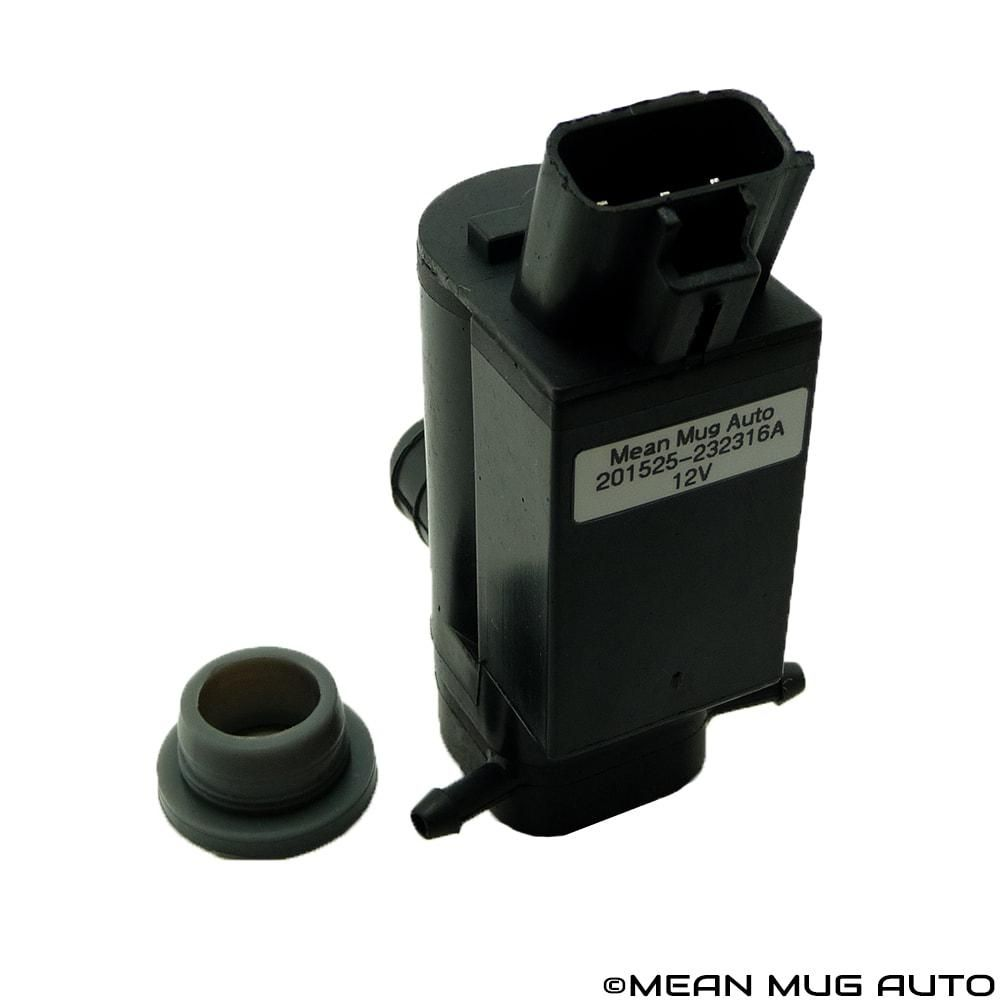 85330-12280 Lexus Mean Mug Auto 201525-232316A Windshield Washer Pump Scion 85330-44010 w//Grommet For: Toyota Front /& Rear Replaces OEM #: 85330-20470