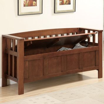 Wildon Home Somerton Wooden Entryway Storage Bench Storage Bench Seating Wooden Storage Bench Indoor Storage Bench