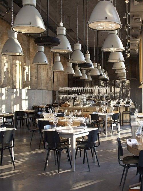 Visit And Follow Vintage Industrial Style For More Inspiring Images And Decor Inspirations Bar Design Restaurant Restaurant Interior Design Restaurant Interior