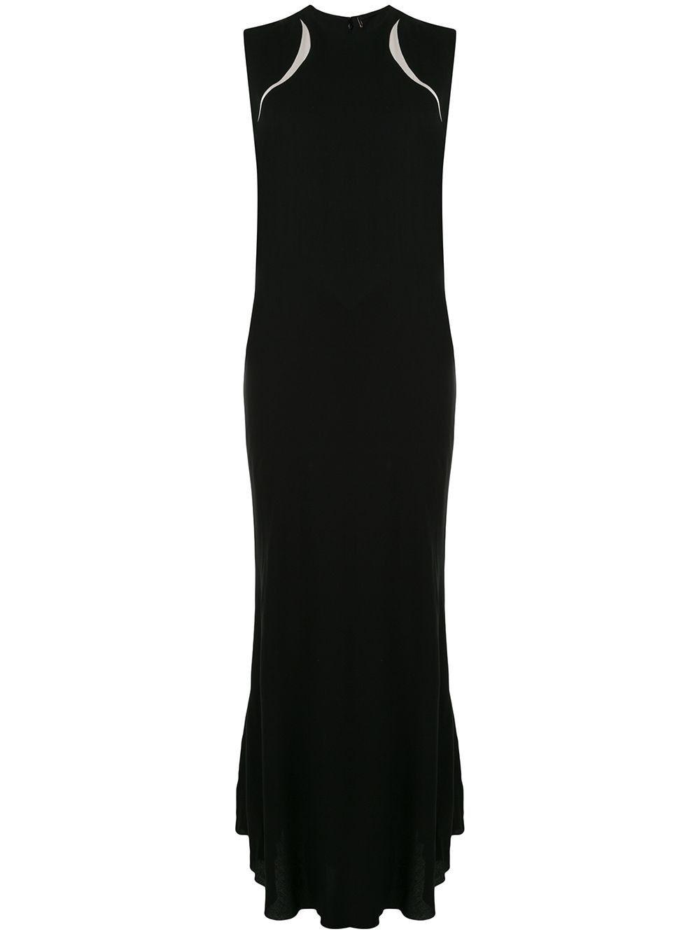 Photo of Haider Ackermann colour-block draped dress – Black