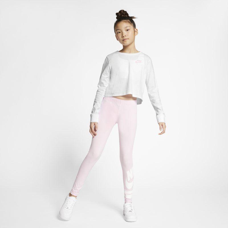 809bada1 Air Older Kids' (Girls') Long-Sleeve Crop Top in 2019 | Long sleeve ...