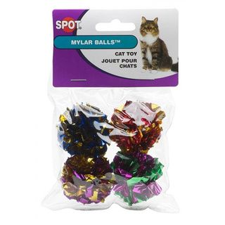 Spot Ethical Mylar Ball Cat Toys (8 Count)   Overstock™ Shopping - The Best Prices on Ethical Pet Products Pet Toys