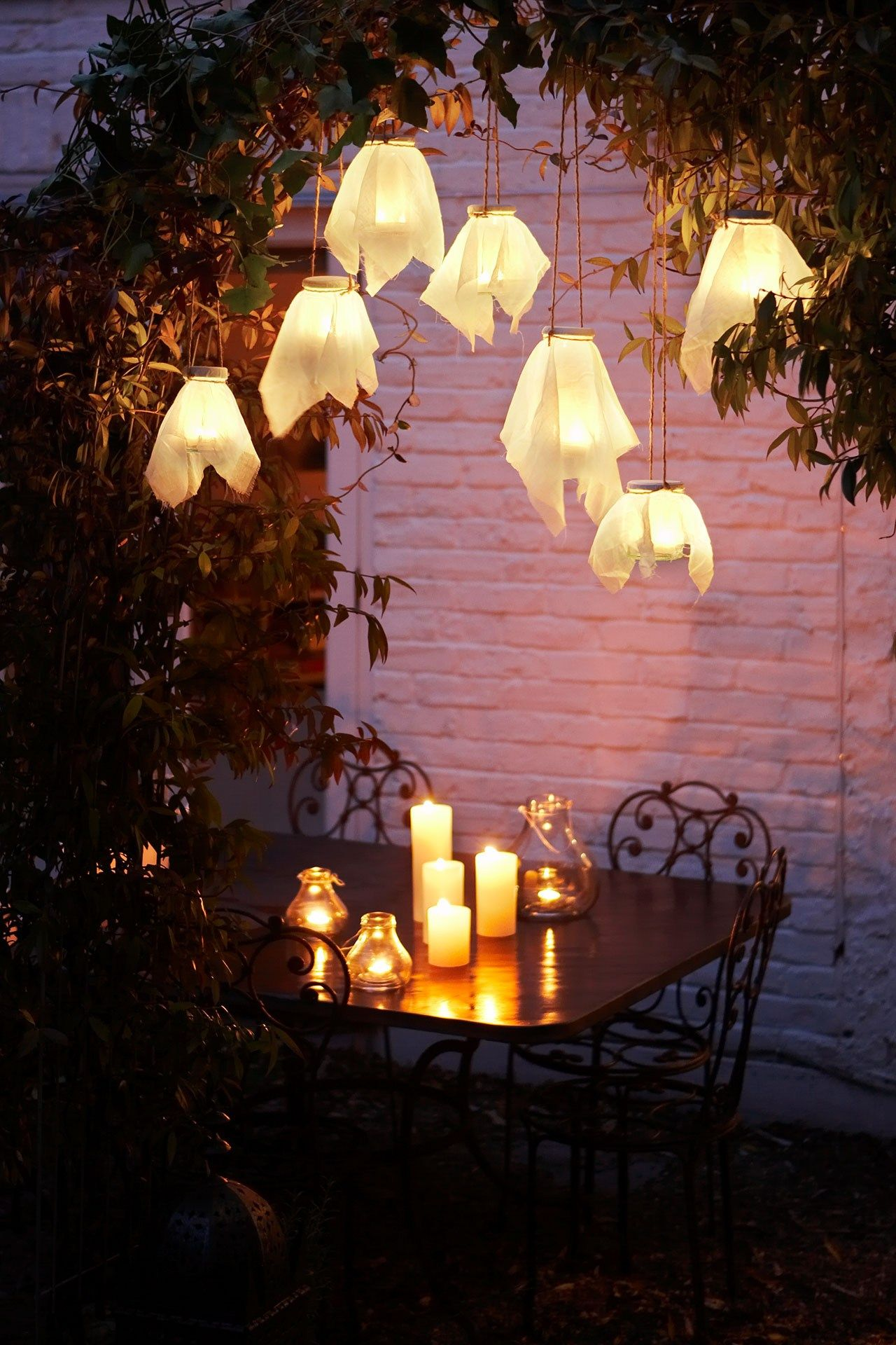 diy party lighting. From Lighting To Decoration, Wonderful Ideas For Taking The Party Outside...whatever Diy N