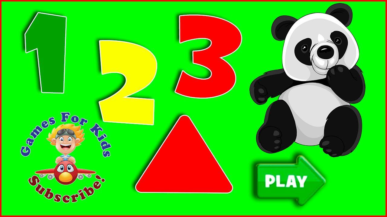 Panda Preschool Adventure   Learn Numbers & Shapes   Baby Games ...