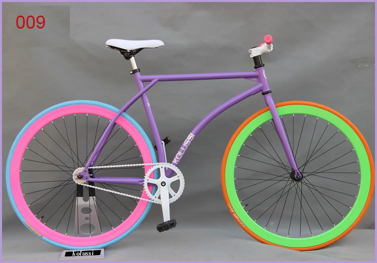 New Fixed Gear Road Sport Bikes For Women Outdoor Cycling Vehicle