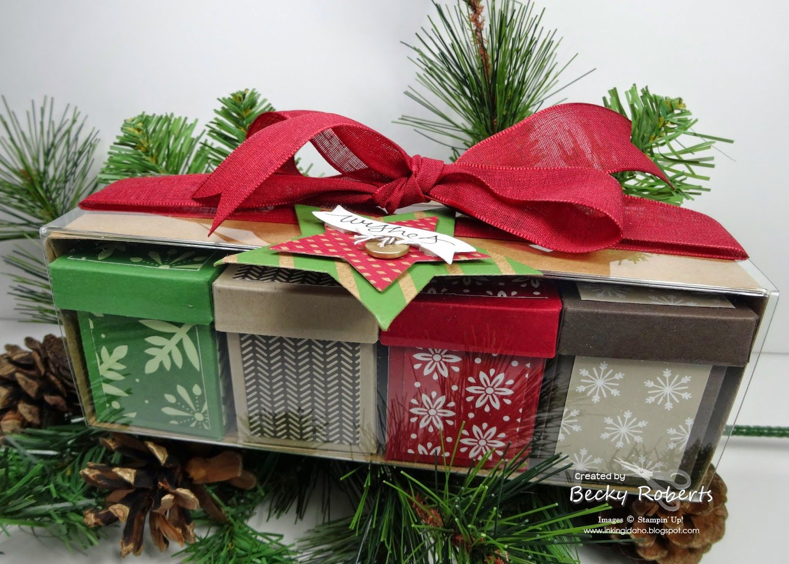 12th day of christmas tag a bag box of boxes