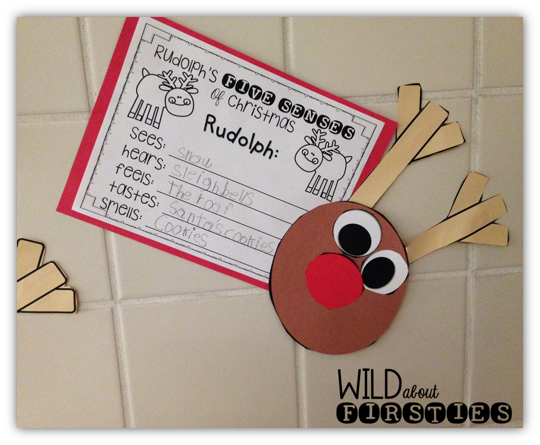 Wild About Firsties!: Christmas Craft Freebies!!! | 1st