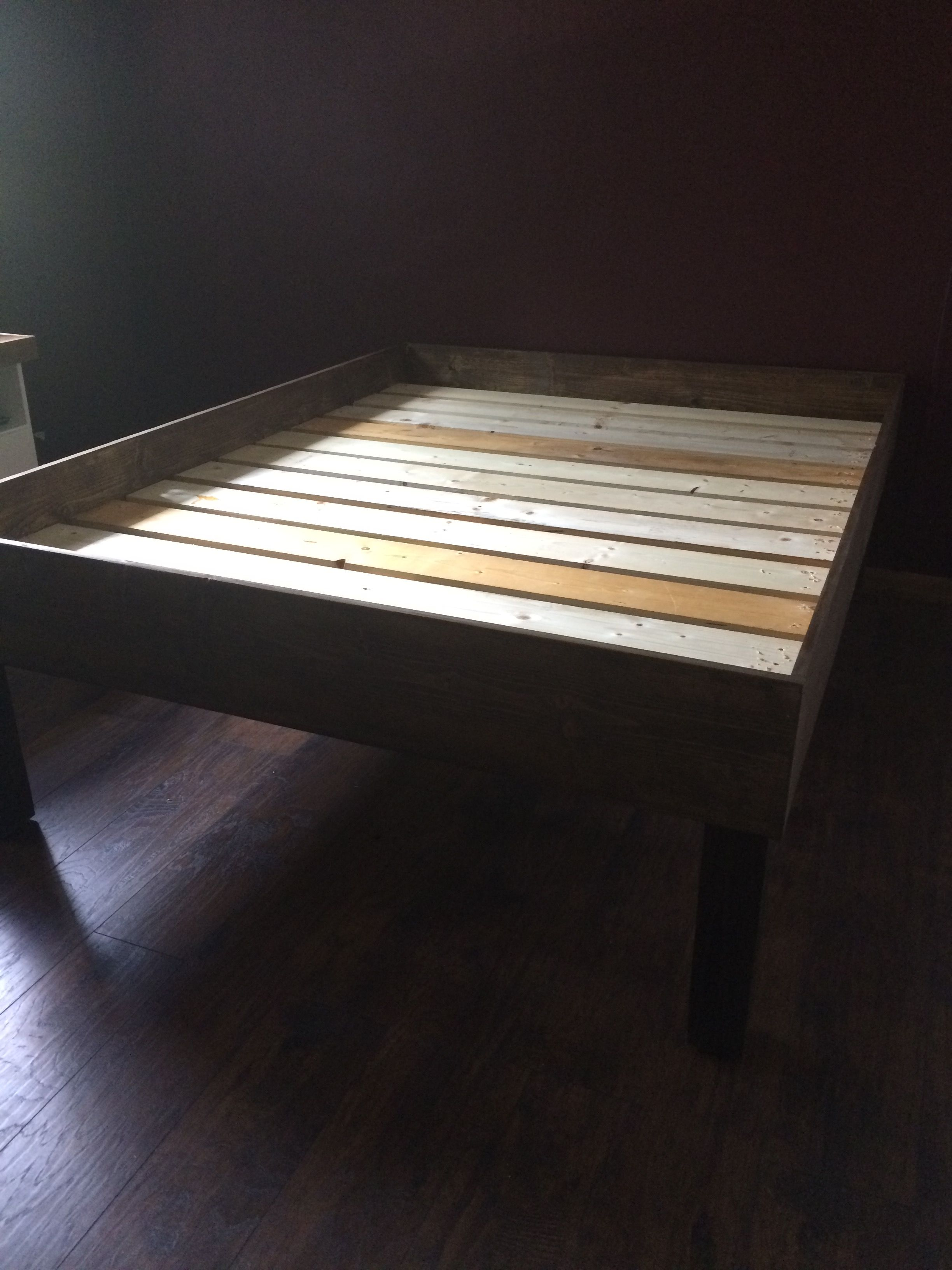 Josh S Bed Construction Items Used Spruce 4 8 Lengths X 10 Pine