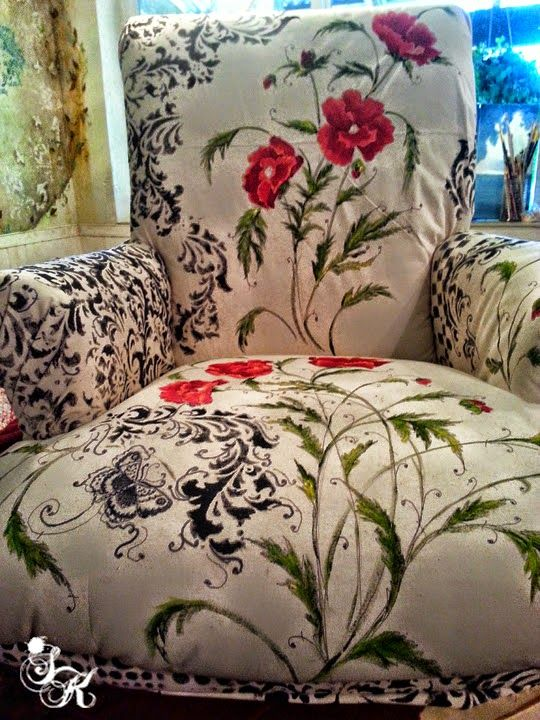 Upholstered Furniture Painted Upholstery Sk Sartell The Graphics